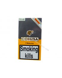 Cohiba Robusto Tubos pack of 3 Cigars