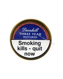 Dunhill Three Year Virginia Pipe Tobacco 50g