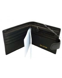 Black Leather Wallet 1403