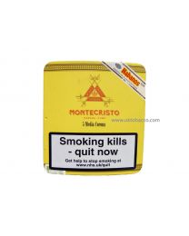 Montecristo Media Corona Pack of 5 Cigars