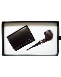 Peterson Pipe and Tobacco Pouch Gift Set
