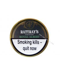 Rattray's Royal Albert Pipe Tobacco 50g tin
