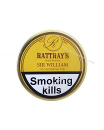 Rattray's Sir William Pipe Tobacco 50g tin