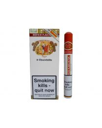 Romeo y Julieta Churchill Pack of 3 Tubed Cigars