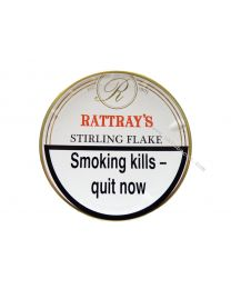 Rattray's Stirling Flake Pipe Tobacco 50g tin