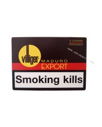 Villiger Export Pressed Maduro Cigars