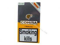 Cohiba Robusto Tubos pack of 3 Cigars