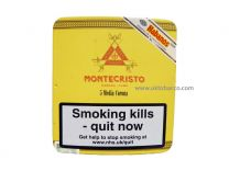 Montecristo Media Corona Pack of 5 Cigars