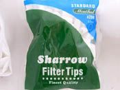 Standard Menthol Filter tips