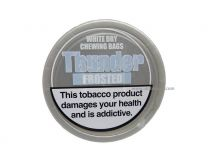 Thunder Frosted White Dry Chewing Tobacco Bags
